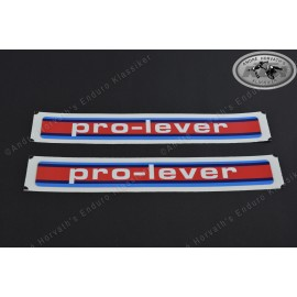 Pro Lever sticker Kit KTM Models 1985-1986