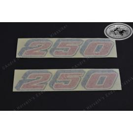 Sticker Swing Arm KTM 250 Models 1987