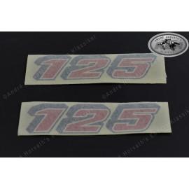 Sticker Swing Arm KTM 125 Models 1987