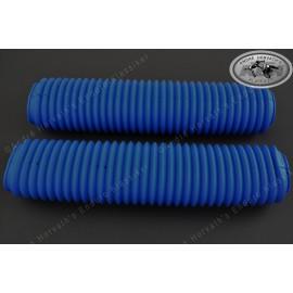 fork boots kit BLUE 40-43mm/460mm length