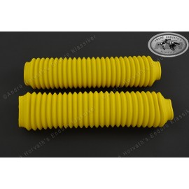 Fork Boots Kit Yellow 38mm/350mm long