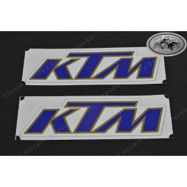 Decal Kit KTM blue gold 1982-1985