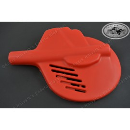 brake disc guide, fork guard universal Red