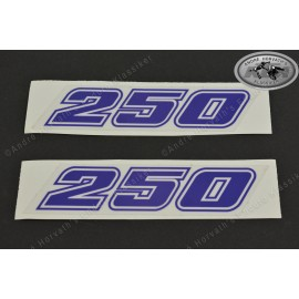 "decal kit blue ""250"""