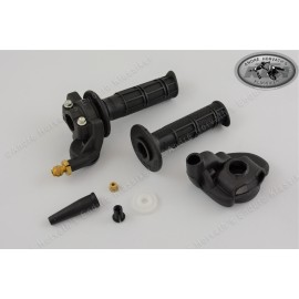 Domino single throttle grip for 2-stroke bikes
