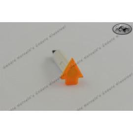 control light yellow 6V arrow shape for blinker