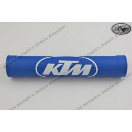 handlebar pad KTM blue