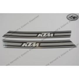 decal kit KTM models 1974/1975 black/white