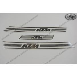 TECNOSEL Graphic Kit Replica OEM KTM GS 74-76 White Background