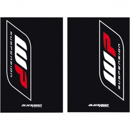 WP fork decal kit 155x235mm (kit suits to two fork tubes)
