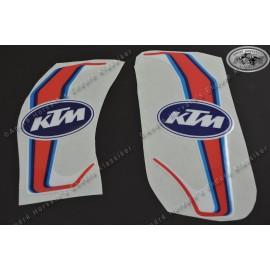 decal kit gas tank spoiler KTM 2-stroke models 1987