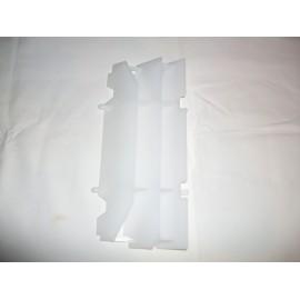 Kühlerschutz links und rechts transparent