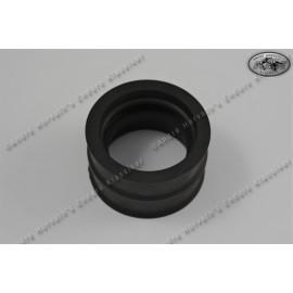 Gummimuffe gerade für Rotax 4-Takter mit Dell'Orto 36mm Vergaser