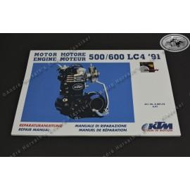 Repair Manual KTM 500/600 LC4