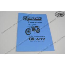 Penton/KTM Spare Parts Manual 1977 Frame