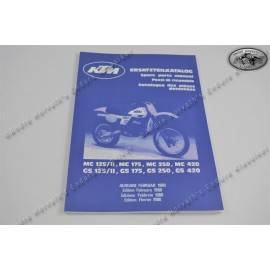 KTM Spare Parts Manual Frame 1980
